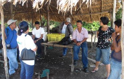 Ir a Una visita de evaluación del Fondo Galego de Cooperación al Estero Real, Nicaragua