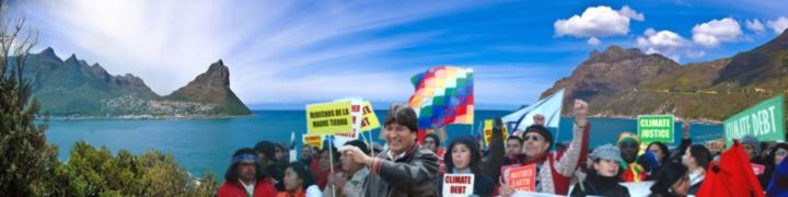 Ir a La Conferencia de Cochabamba lanza un mensaje de esperanza frente al fracaso de la Cumbre de Copenhague