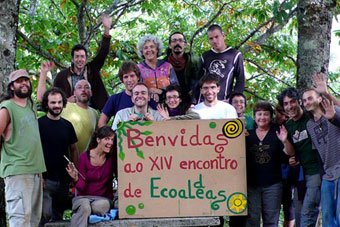 Ir a Comienza el XIV encuentro estatal de la Red Ibérica de Ecoaldeas en As Corcerizas