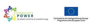 logo UE y energía comunitaria