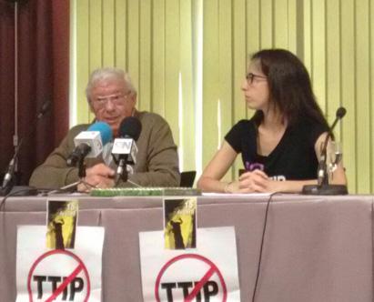 Ir a 18 de abril, Movilizaciones en el Día de Acción Global contra el TTIP