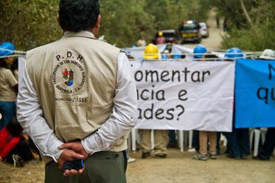 Ir a Encuentro: Guatemala, una empresa española agrede a la población de Barillas