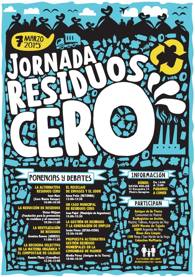 Ir a Jornadas: Residuos Cero, 7 de marzo