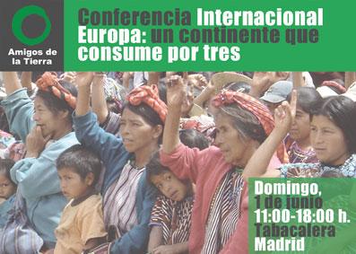 Ir a Conferencia Internacional: Europa, un continente que consume por tres