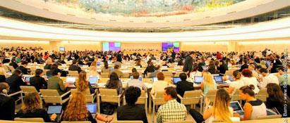 Ir a Activistas de todo el mundo reclaman un tratado vinculante de derechos humanos en la ONU