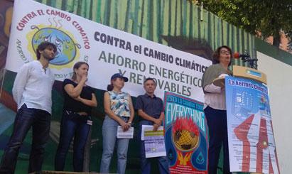 Ir a Alianza por el Clima presenta múltiples alternativas al cambio climático en una Expoferia en Madrid