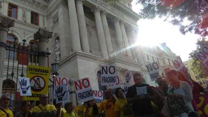 Ir a Compromiso político para la prohibición del fracking en España