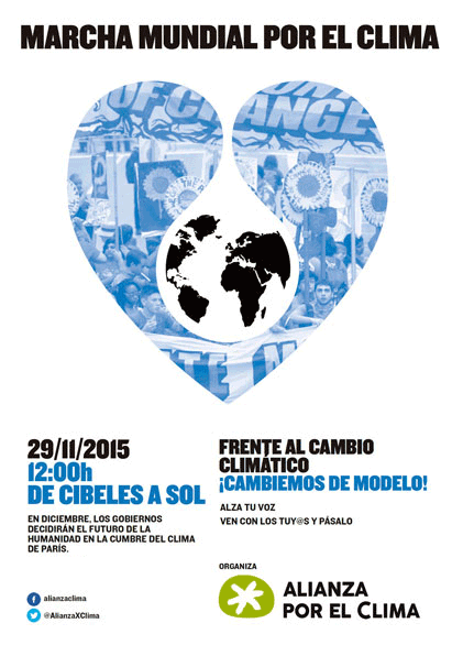 Ir a Madrid: ¡Ven a la marcha por el clima!