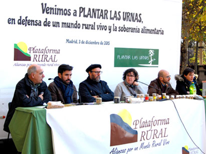 Ir a Plataforma Rural reclama un gran pacto político para garantizar el futuro del medio rural