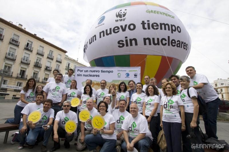 Ir a Día Mundial del Medio Ambiente: por un nuevo tiempo sin nucleares