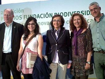 Ir a Amigos da Terra y AGARESO recogen el premio de la Fundación Biodiversidad por el documental sobre el Golfo de Fonseca