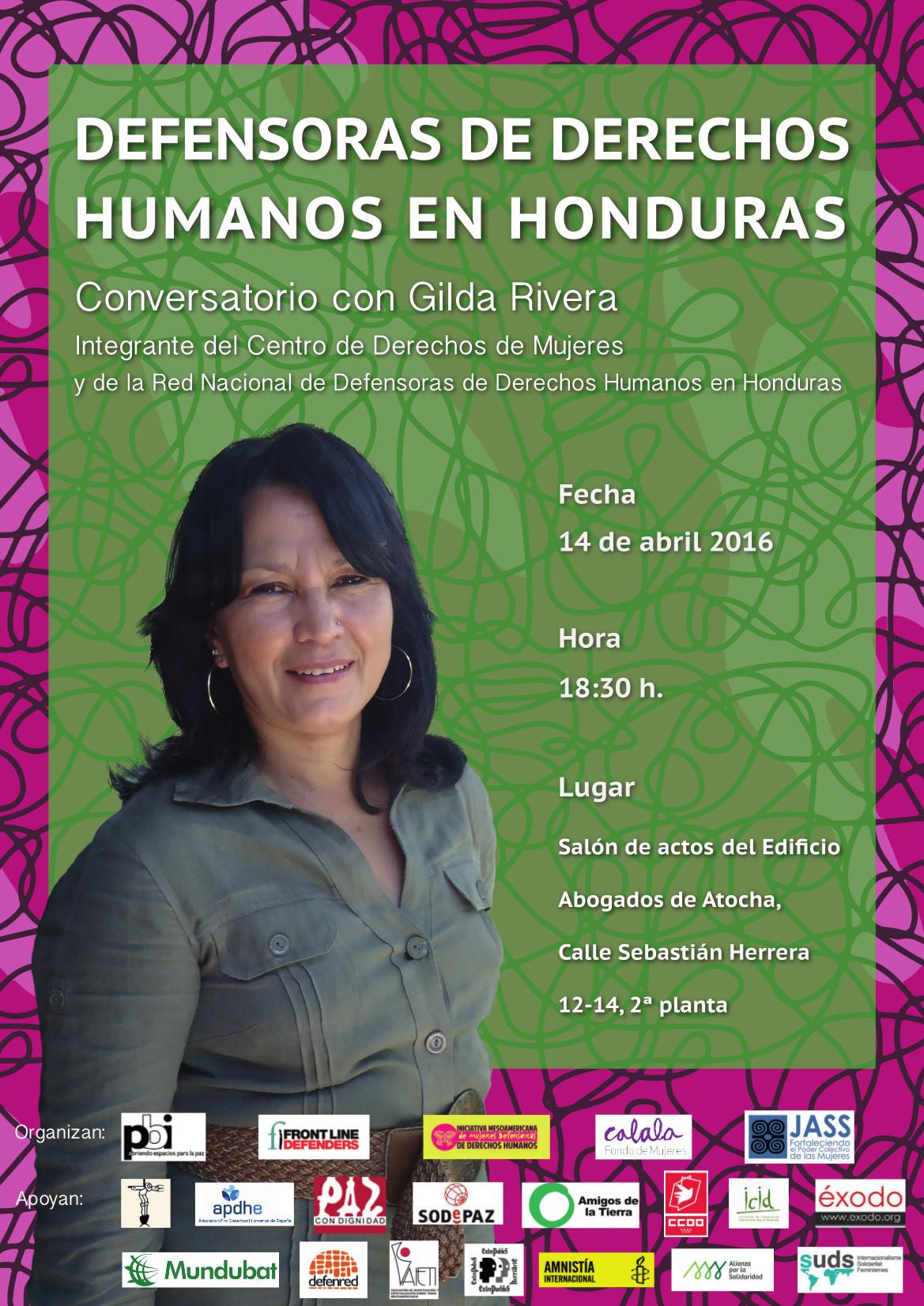 Ir a Madrid: Defensoras de derechos humanos en Honduras