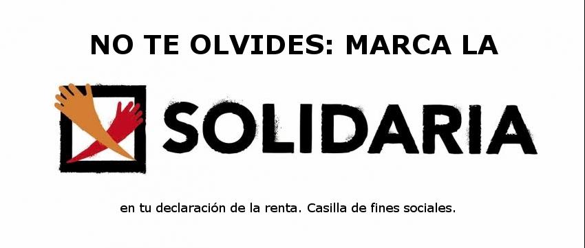 Ir a En tu declaración, marca la X Solidaria