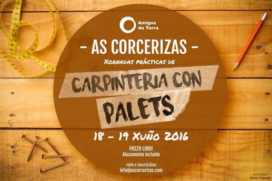 Ir a As Corcerizas: Carpintería con Palets – Curso práctico