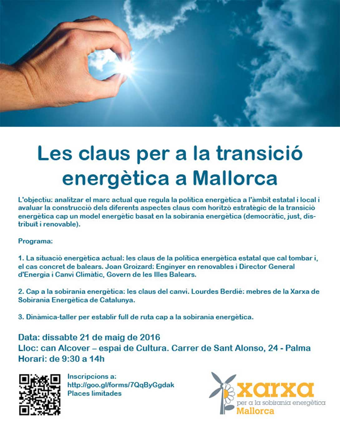 Ir a Mallorca: jornada de formación «Las claves para la transición energética en Mallorca»