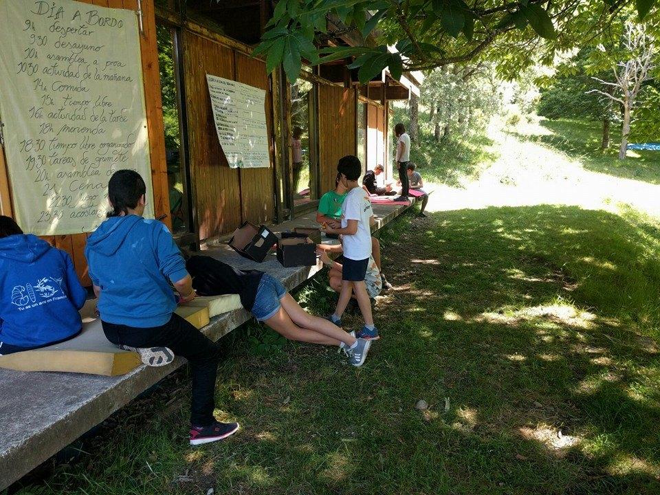 Ir a As Corcerizas: Campamentos de verano de Greenpeace en As Corcerizas