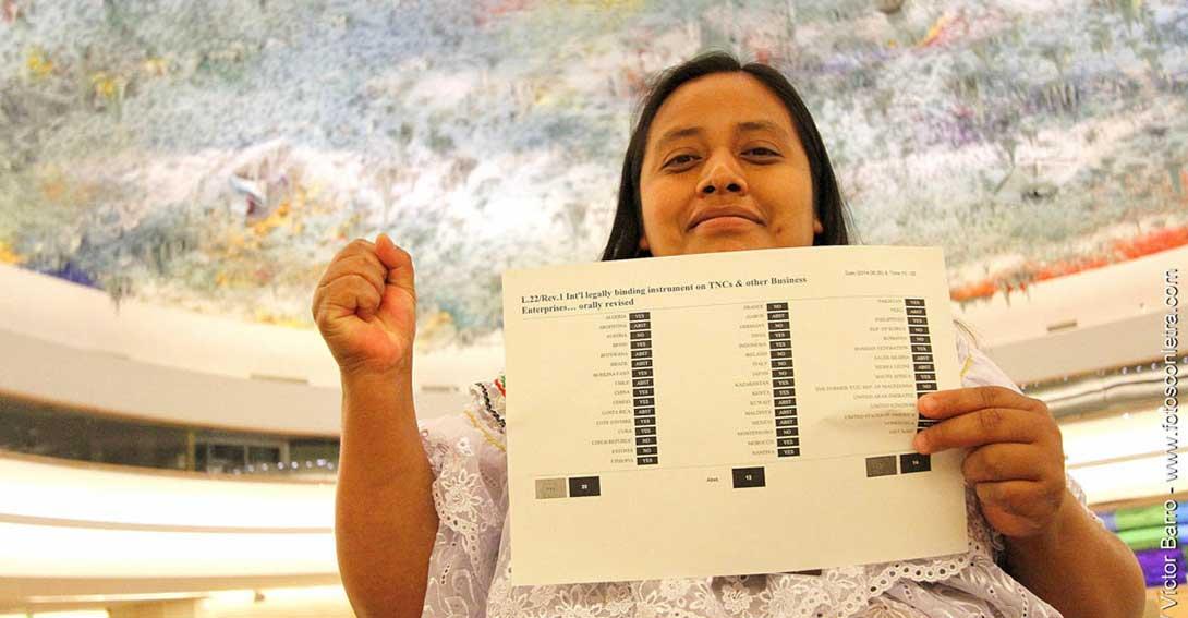 Ir a Tratado de Naciones Unidas sobre Derechos Humanos y Empresas