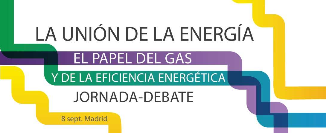 Ir a Jornada La Unión de la Energía: el papel del gas y de la eficiencia energética