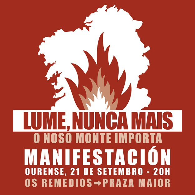 Ir a Ourense: Manifestación LUMES NUNCA MÁIS