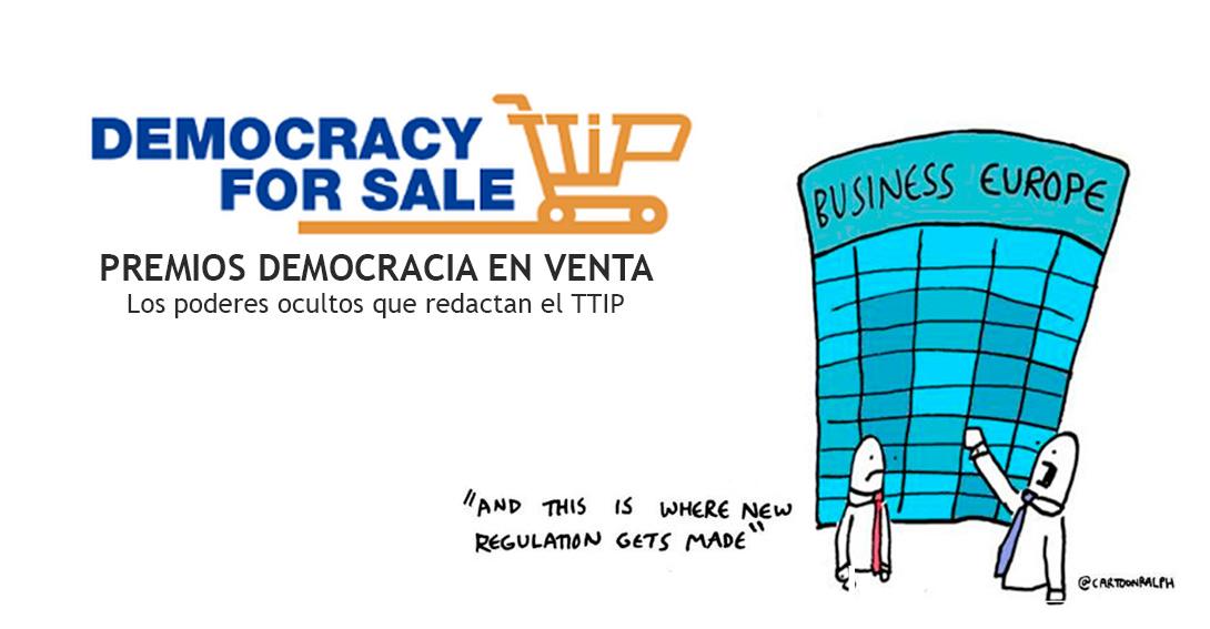 Ir a Premios Democracia en Venta: Los poderes ocultos que redactan el TTIP