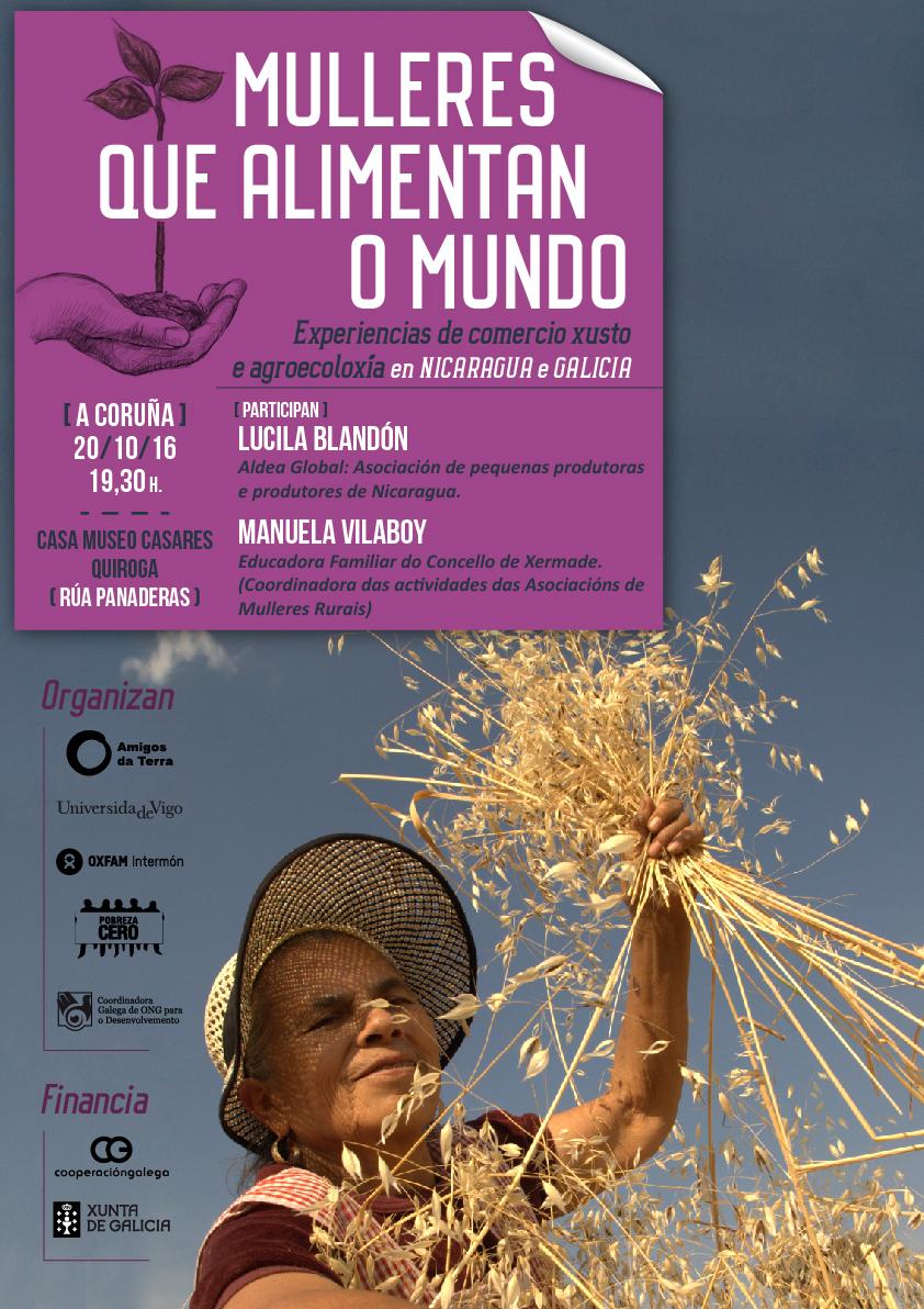 Ir a Mulleres que alimentan o mundo. Experiencias dende Nicaragua e Galicia (A Coruña)