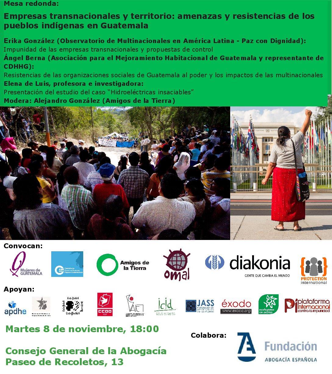 Ir a Empresas transnacionales y territorio. Amenazas y resistencias de los pueblos indígenas en Guatemala