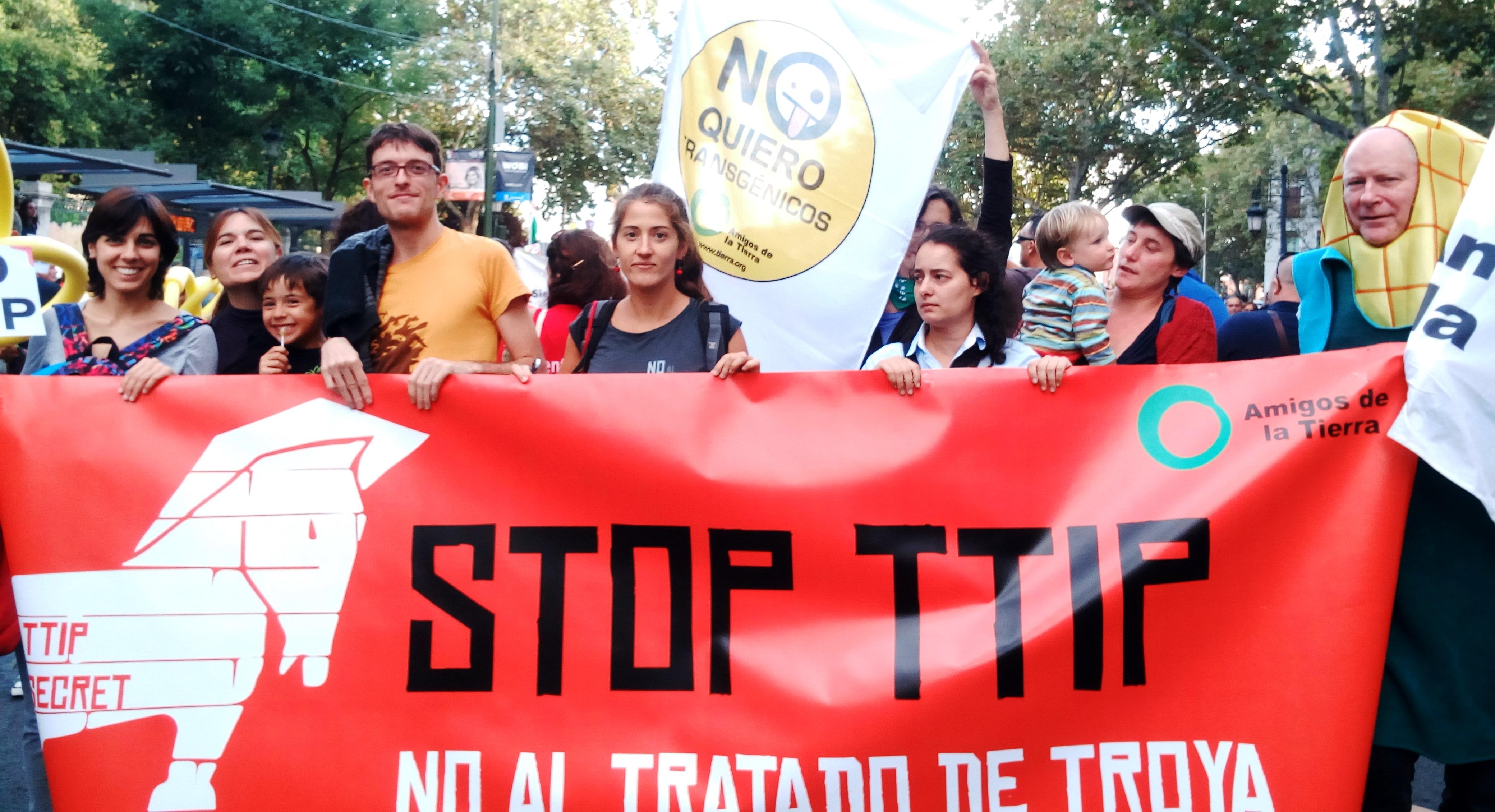 Amigos de la Tierra contra el TTIP