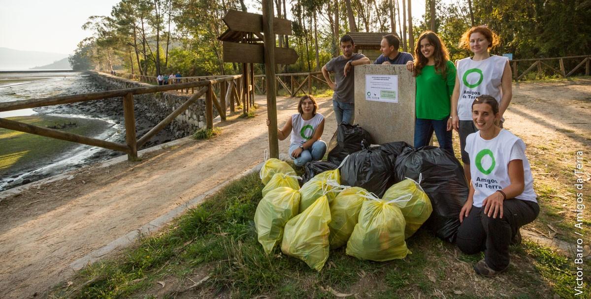 recogida residuos en Vilaboa