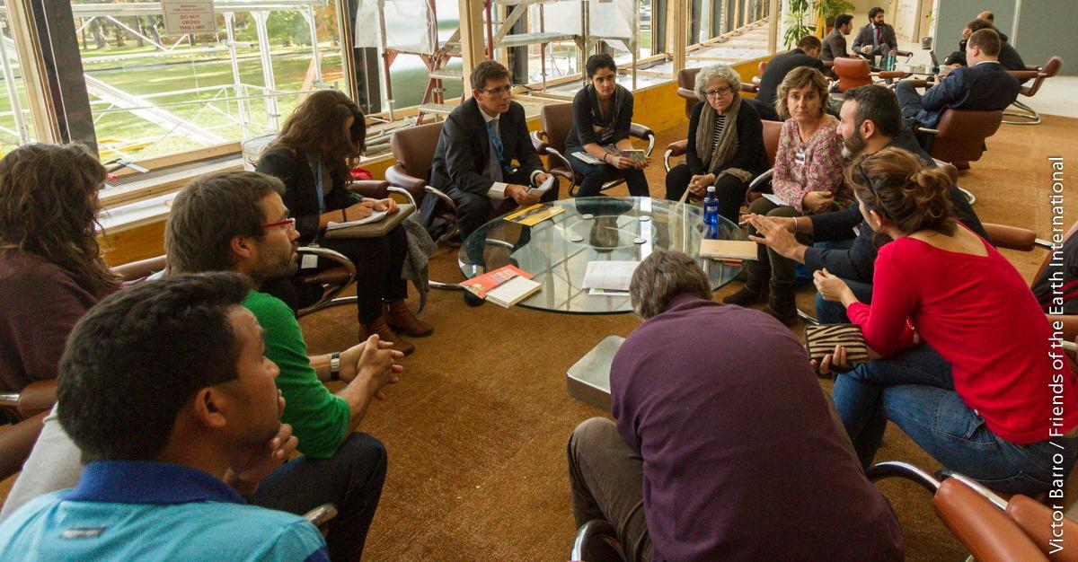 Encuentro de ONG con representante español en las negociaciones para un tratado vinculante, Ginebra, Octubre de 2016