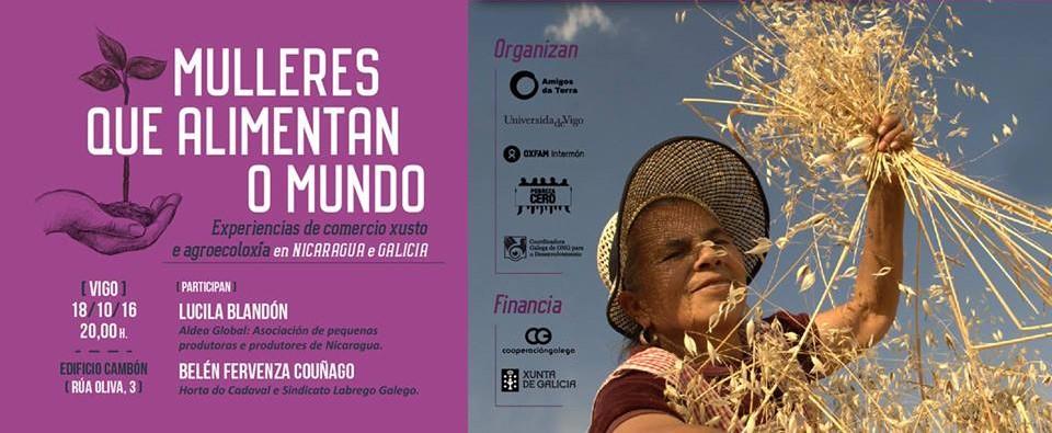 Ir a Mulleres que alimentan o mundo. Experiencias dende Nicaragua e Galicia (Vigo)