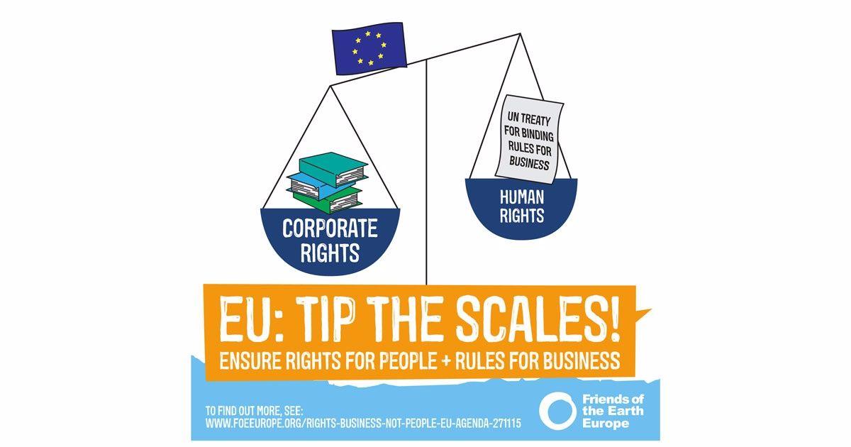 Ir a Apoya el Tratado de la ONU: derechos para las personas y reglas para las empresas.