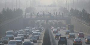 polución vehículos tráfico coches emisiones co2