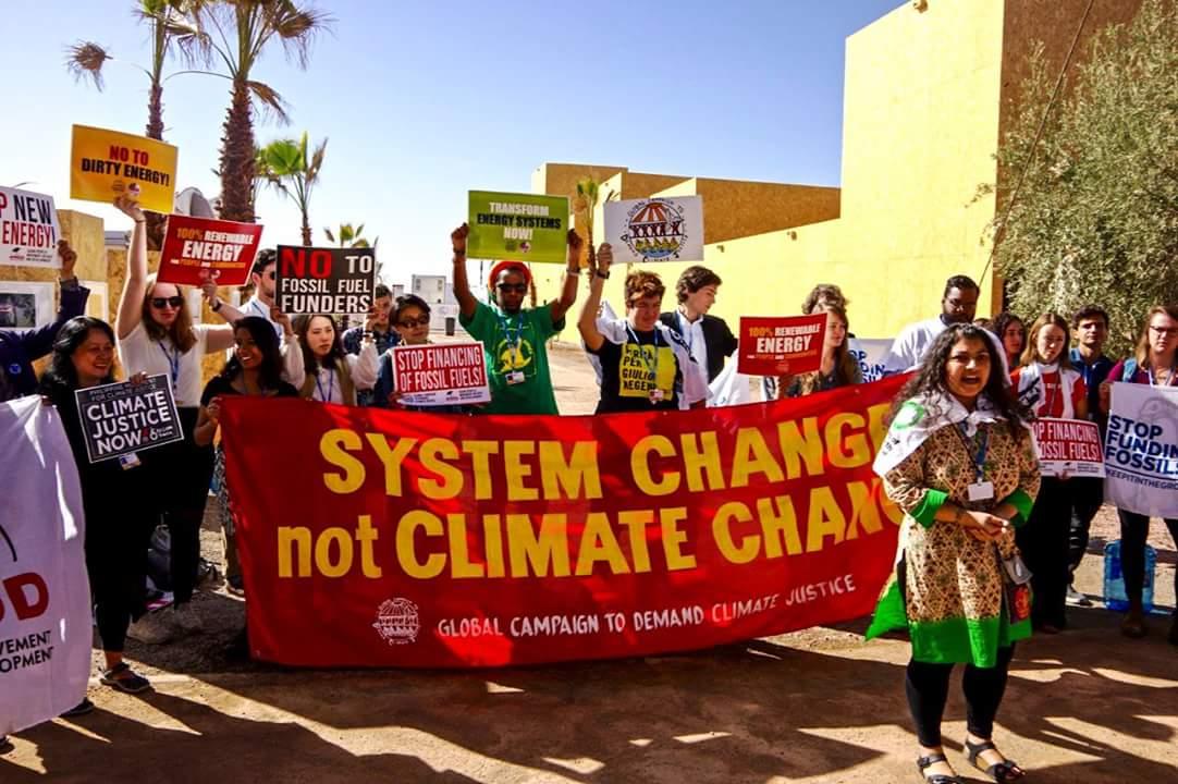 Ir a Análisis de Amigos de la Tierra: la COP22 lejos de lograr Justicia Climática para las comunidades más vulnerables