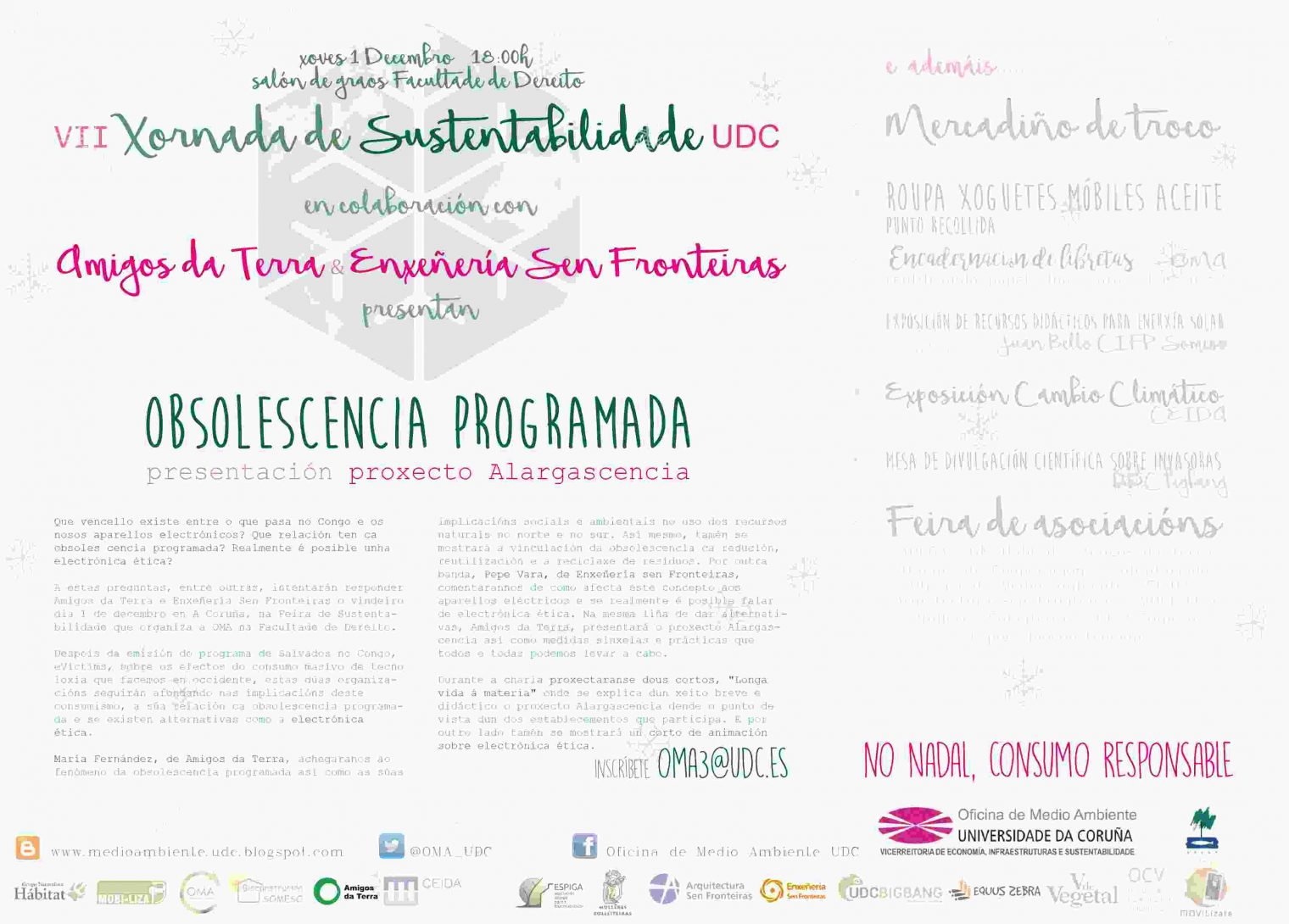 Ir a A Coruña: Coloquio sobre obsolescencia y electrónica ética