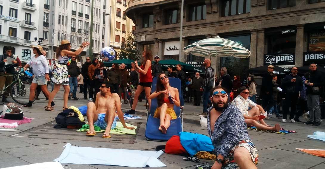 """Ir a Alianza por el Clima llama a la acción: """"No queremos un verano perpetuo"""""""