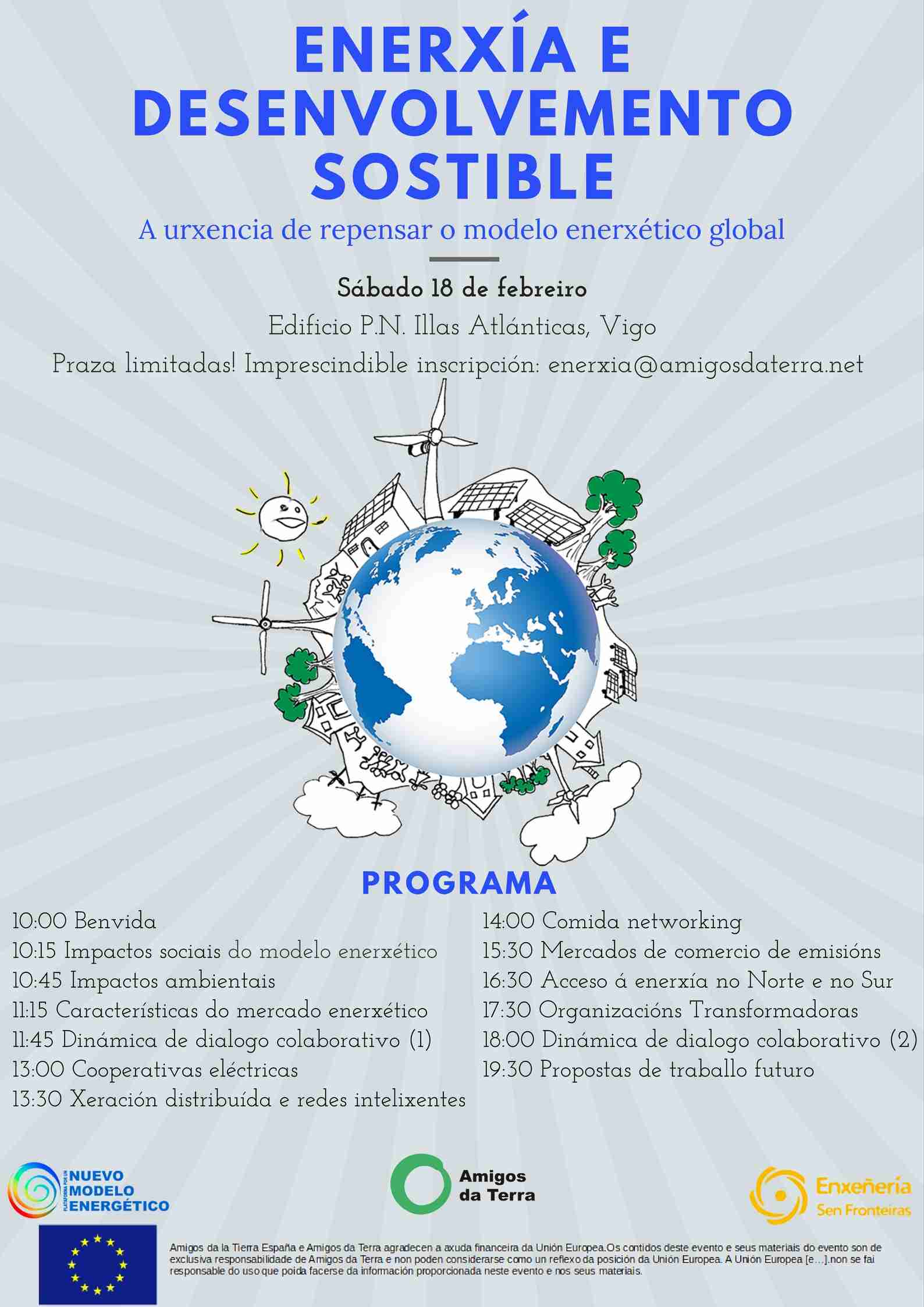 Ir a Galicia: Enerxía e desenvolvemento sostible