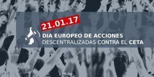 movilizaciones contra el CETA 21E no al CETA