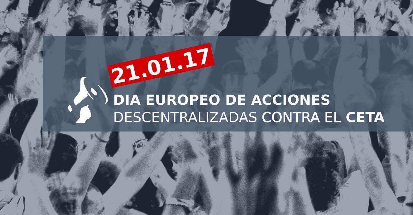 Ir a Movilizaciones descentralizadas contra el CETA