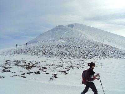 Ir a La Rioja: Excursión con raquetas por la nieve