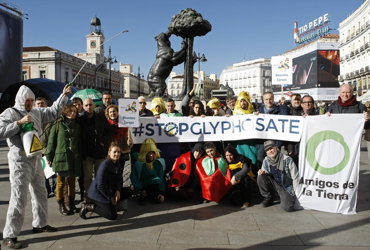 Ir a Varias ciudades de Europa acogen actos públicos para iniciar la recogida de firmas por la prohibición del glifosato