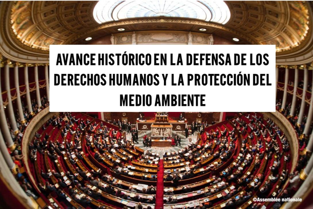 Ir a Amigos de la Tierra celebra la adopción de la ley francesa para vigilar a las multinacionales