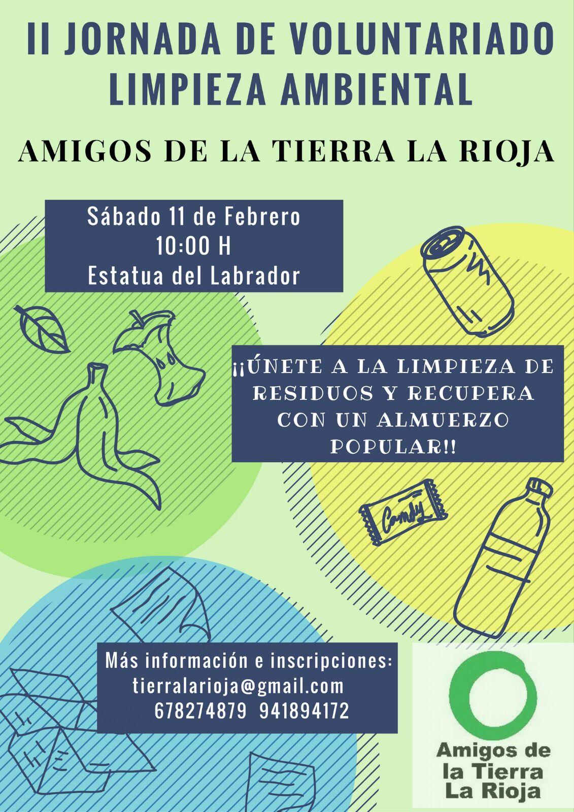 Ir a La Rioja: II Jornada de voluntariado ambiental