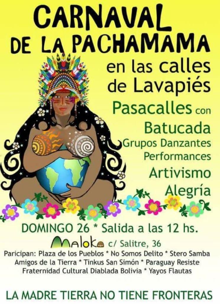 Ir a Madrid: Carnaval Pachamama (Lavapiés)