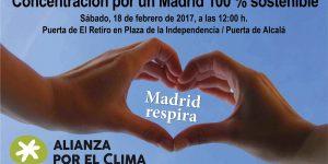 Madrid 100% sostenible encuentro ciudadano
