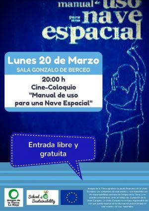 Ir a La Rioja: Proyección de Manual de uso de nave espacial