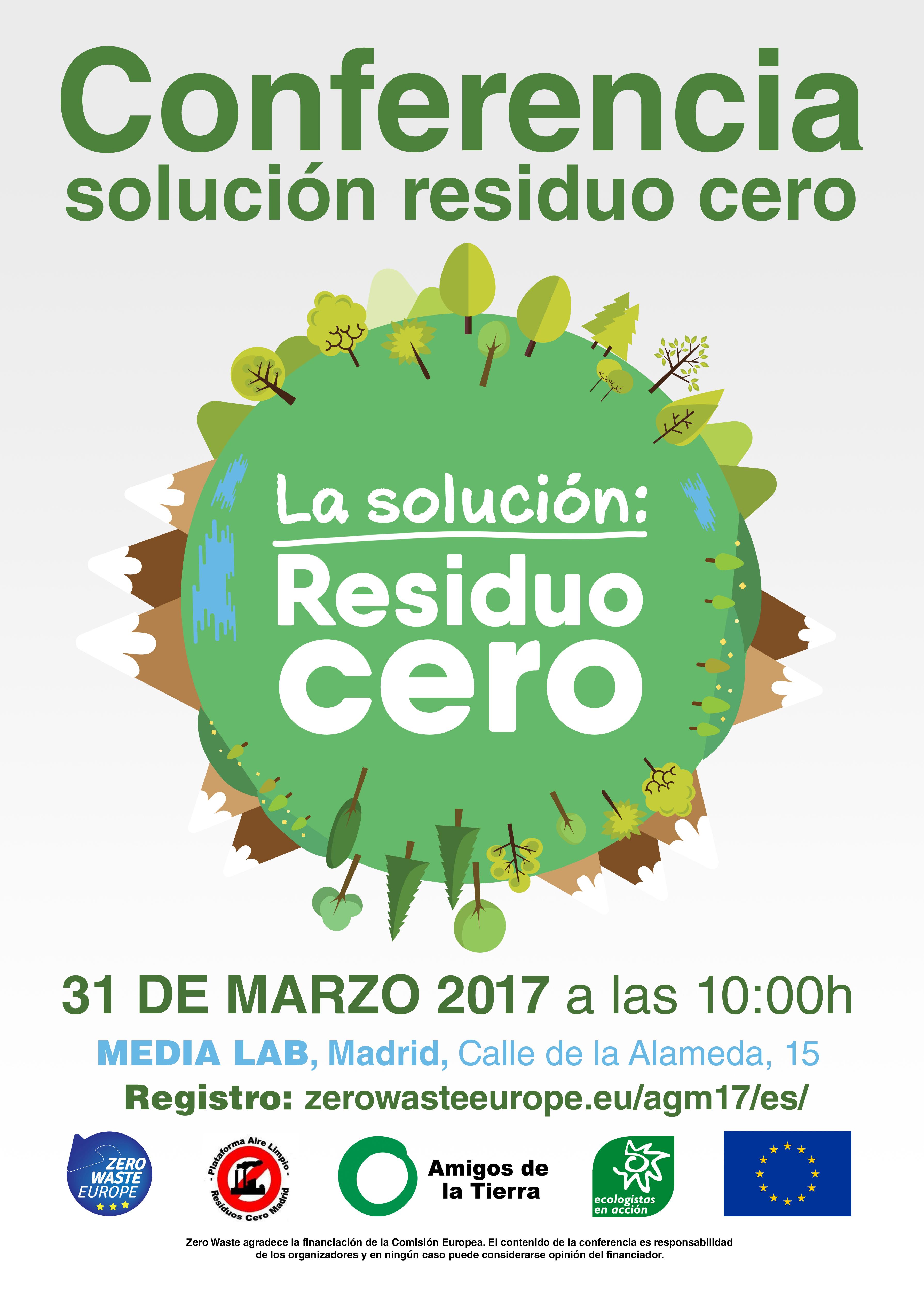 Ir a Madrid: La solución Residuo Cero