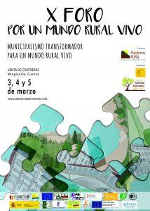 X foro por un Mundo Rural Vivo España rural