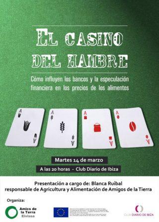 Ir a Eivissa: Presentación de 'El Casino del Hambre'