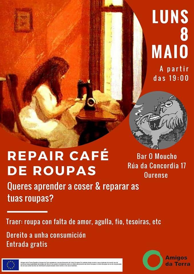 repair café ropa galicia