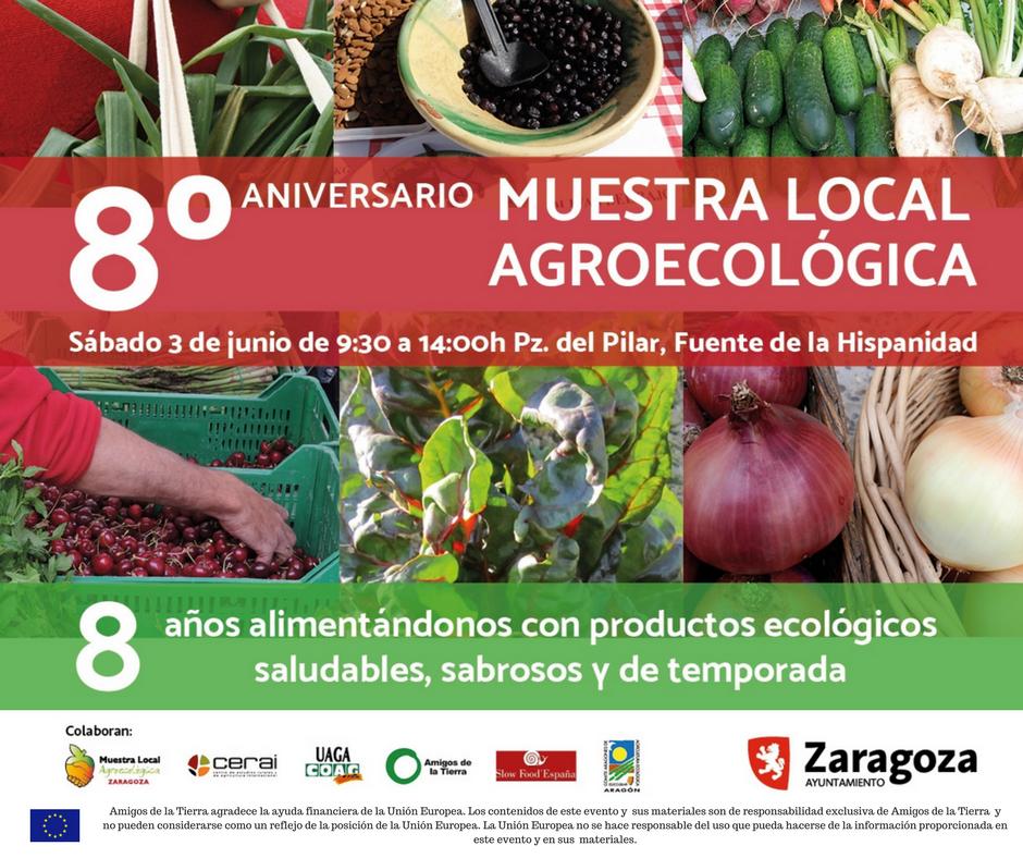 Ir a Aragón: 8º Aniversario Muestra Local Agroecológica
